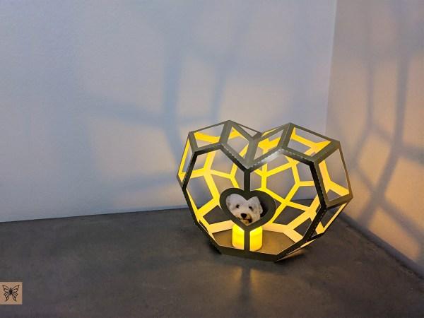 Heart Lantern Valentines Day craft