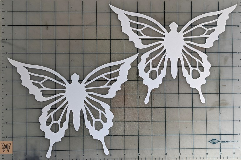 Hanging Butterfly Cutouts