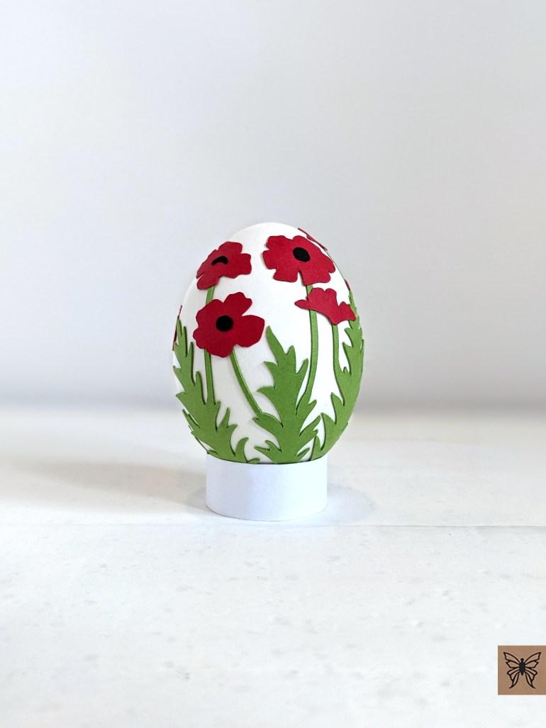 Easter Egg Poppy Wrap S