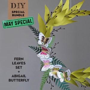 DIY Spring Wreath SVG Bundle