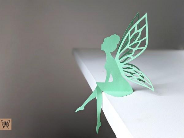 Fairy decoration mint