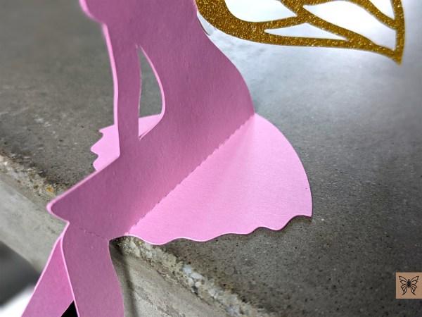 DIY Table Top fairy skirt