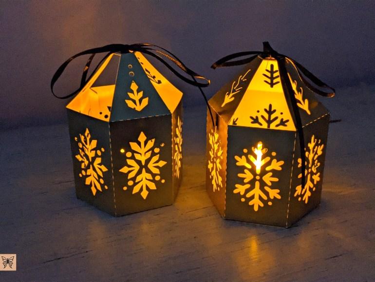 DIY Christmas Lanterns SVG