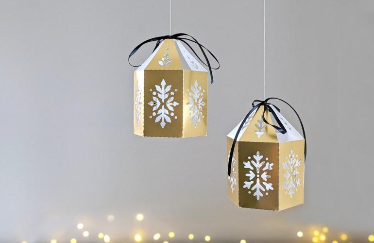 Christmas Lantern DIY SVG