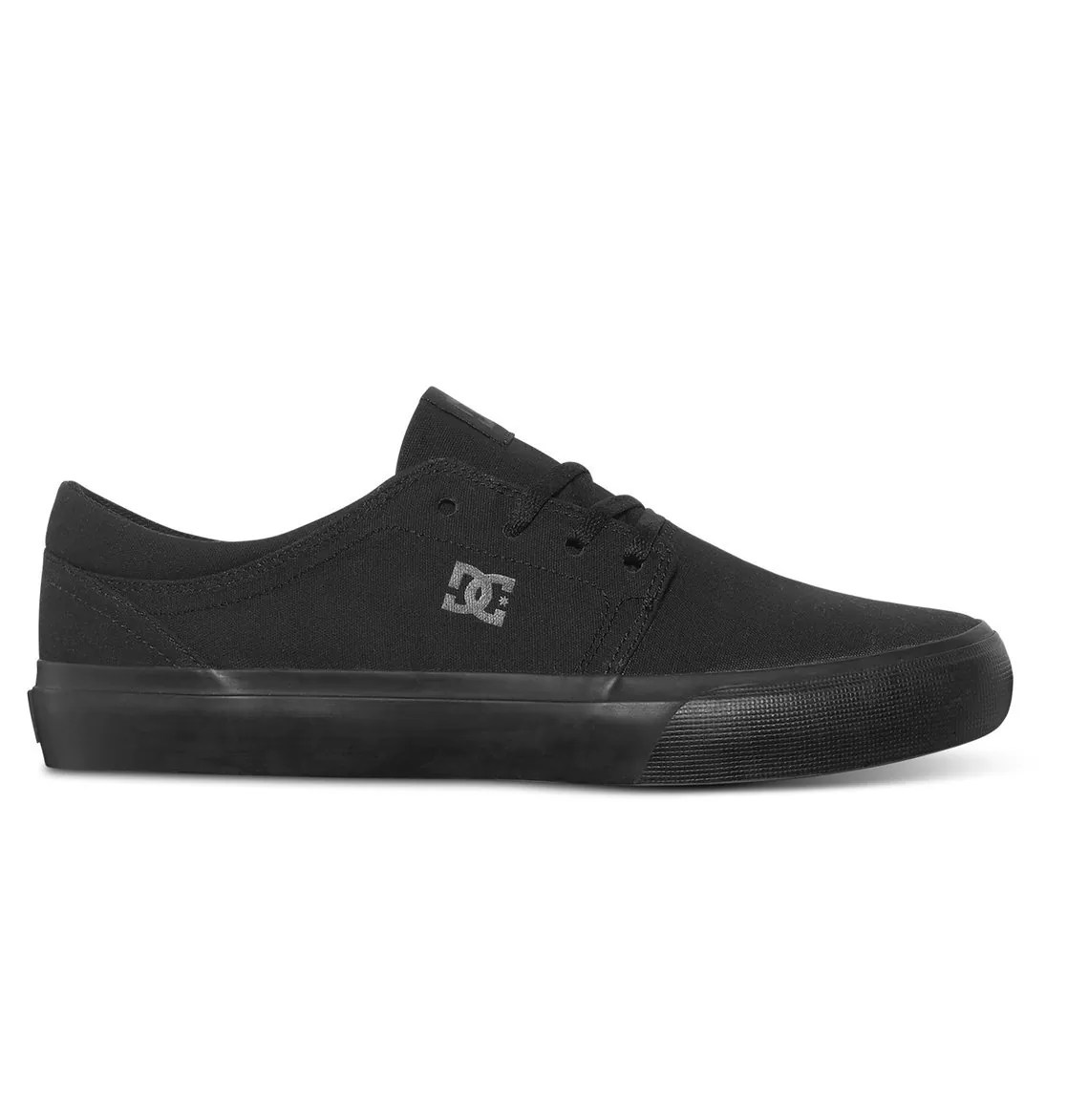 DC Women's Trase TX Skate Shoe Black, 4 D D US