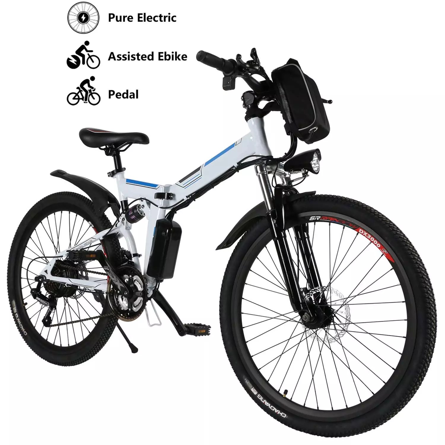 "Yiilove Electric Bicycle 26"" Electric Mountain Bike"