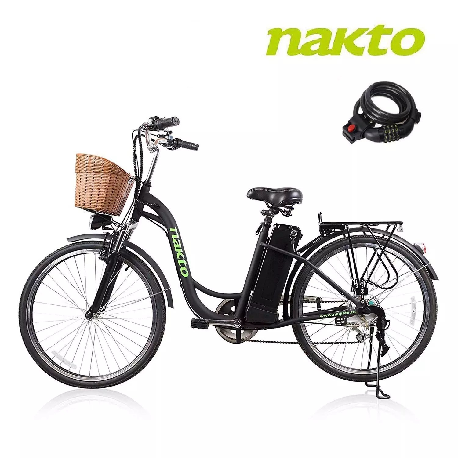 NAKTO Electric Bike for Adults