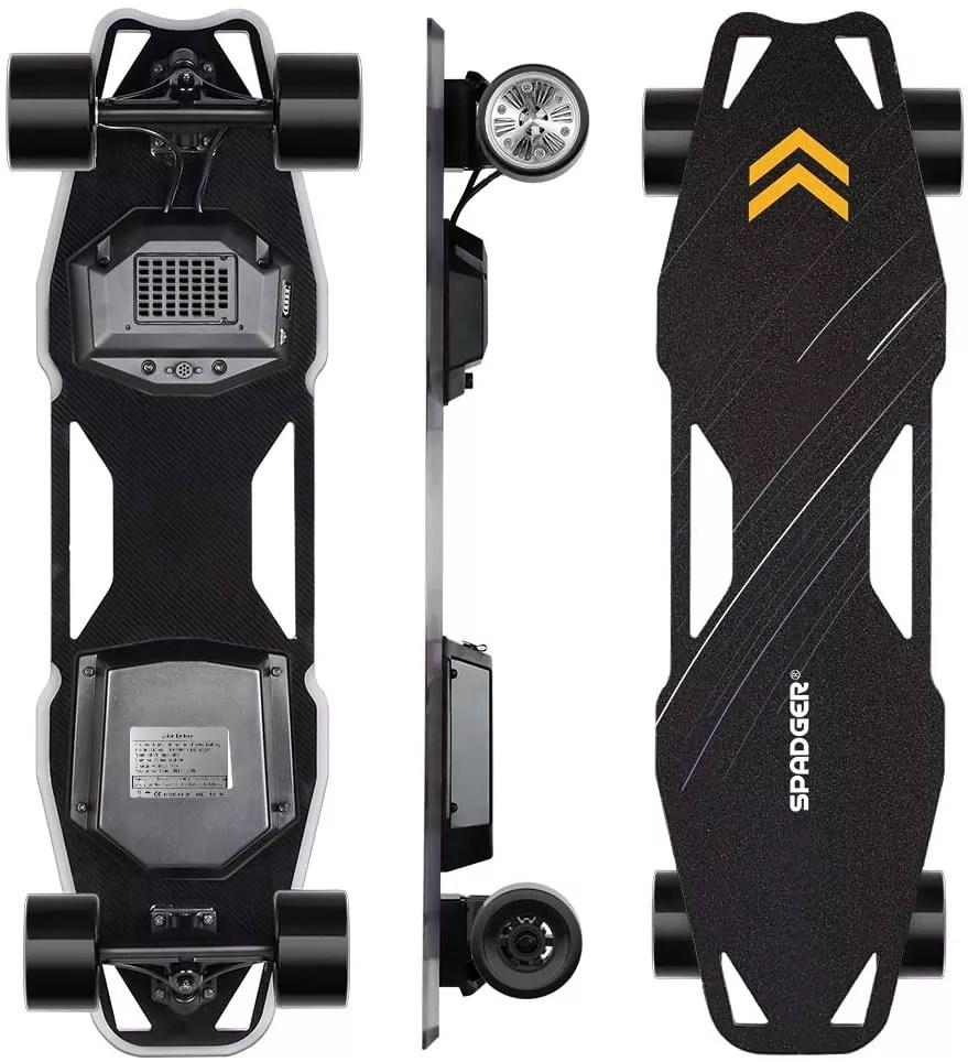 Spadger Electric Skateboard, D5X Plus