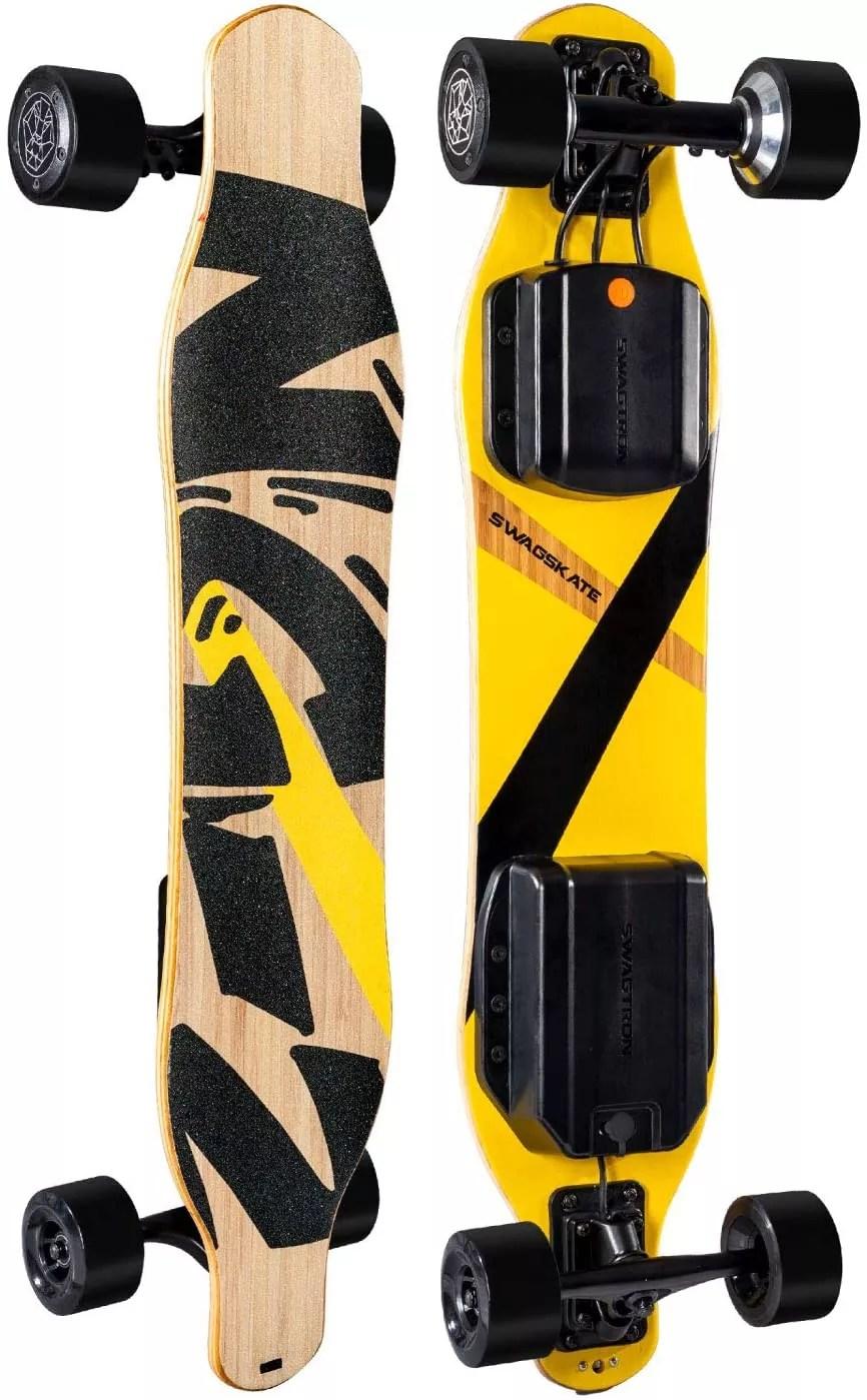 """SWAGSKATE NG2 38"""" A.I. Powered Electric Longboard Skateboard"""