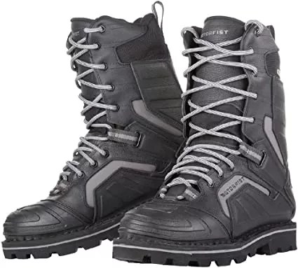 Motorfist Stomper 3.0 Snowmobile Boots Black