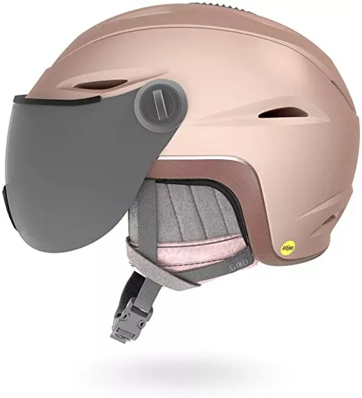 Giro Essence MIPS Women's Snow Helmet with Integrated Goggle Shield