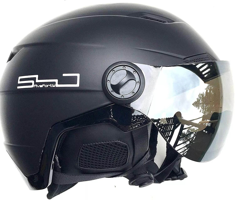 SnowJam Five Forty Poseidon Helmet Adjustable with Built-in Goggles