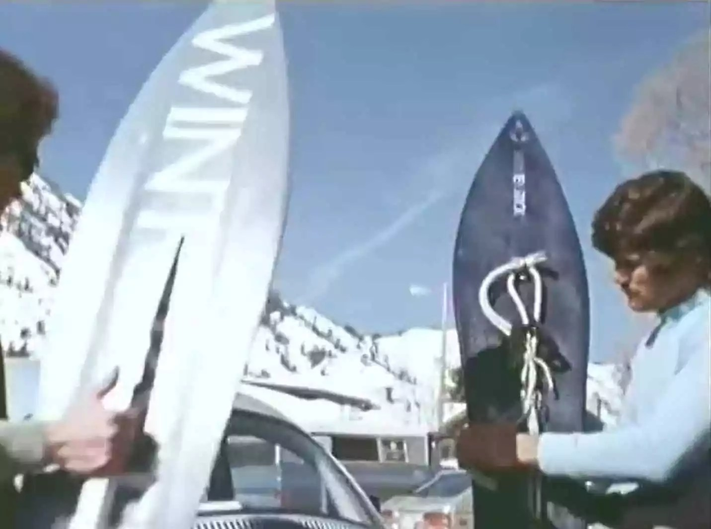 In the LATE 70S-1970s Snowboarding