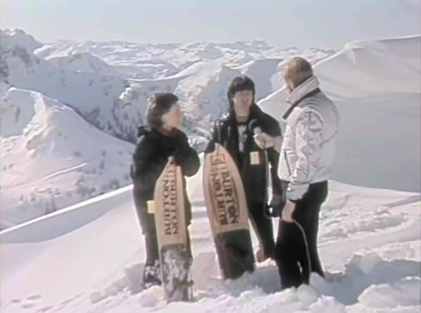 THE 80S-1980s Snowboarding
