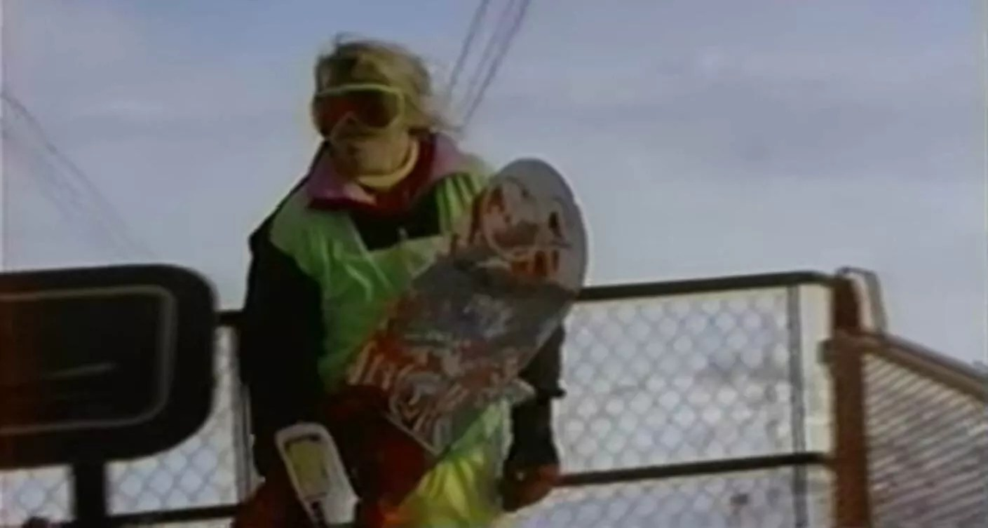 THE 90S-1990s snowboarding