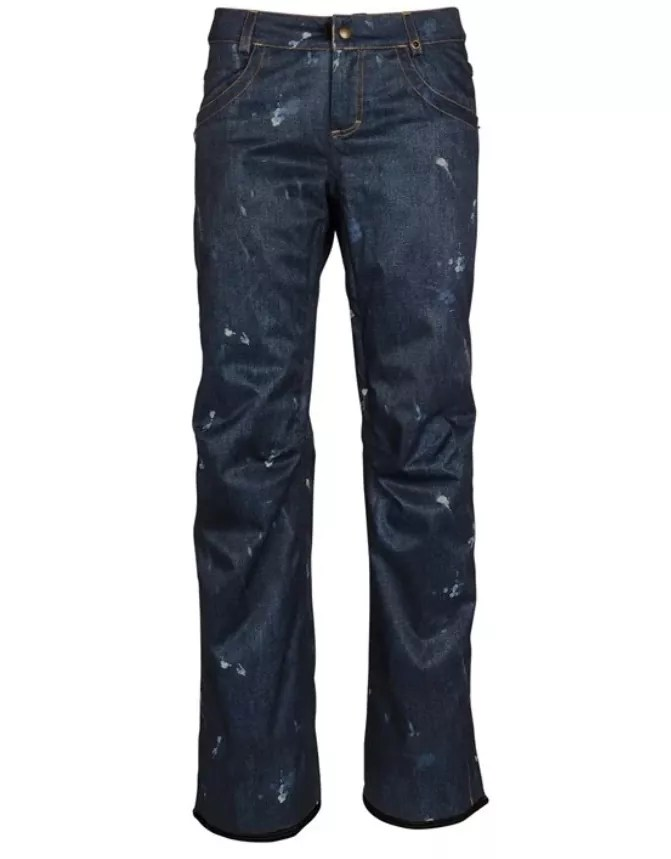 686 Deconstructed Denim Insulated Pants - Womens