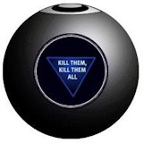 The functional component of Magic 8 Ball was invented by Albert C. Carter.