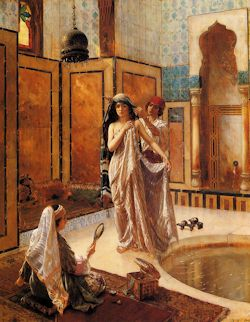 The Harem Bath. Ernst Rudolph 1854 - 1932
