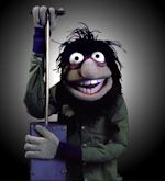 Crazy Harry. Plays triangle bell for the Muppet Orchestra.