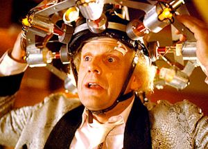 Doc Brown in Back to the Future (1985)