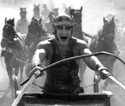 A rich Jewish prince and merchant in Jerusalem at the beginning of the 1st century. - The original Ben Hur film (1907).