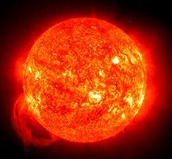 The Sun is a mass of fiery stone, a little larger than Greece. ~ Anaxagoras 434 BCE