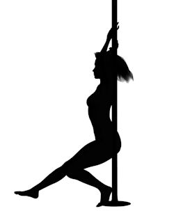 Pole dancing requires significant strength, flexibility and endurance.