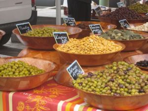 Olive Table, Chamonix