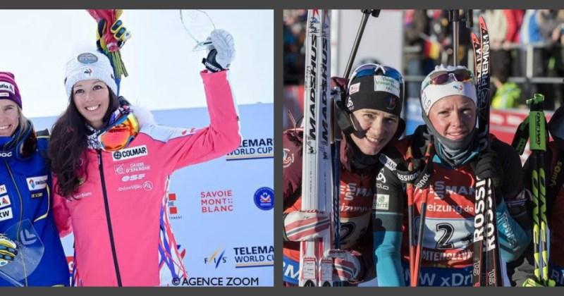 Et encore 5 podiums pour les françaises ce week-end du 21-22 janvier