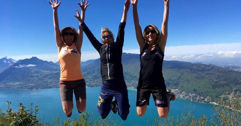 Reprise de la randonnée au Mont Veyrier