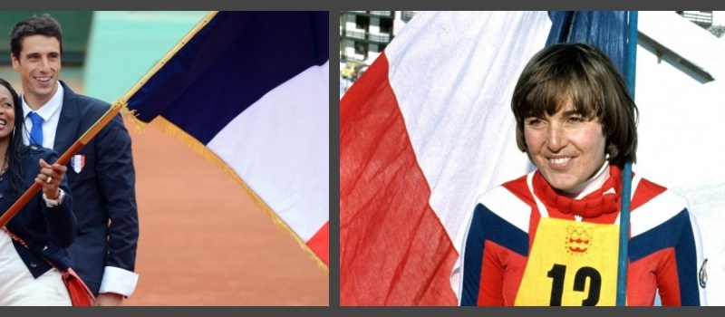 Les françaises porte-drapeaux aux JO depuis 1912