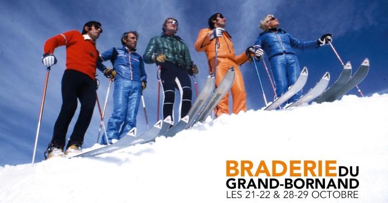 Faites de bonnes affaires à la braderie du ski au Grand Bornand
