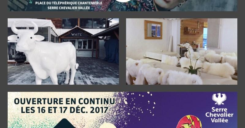 Lancement de la saison à Serre Chevalier le 16 décembre