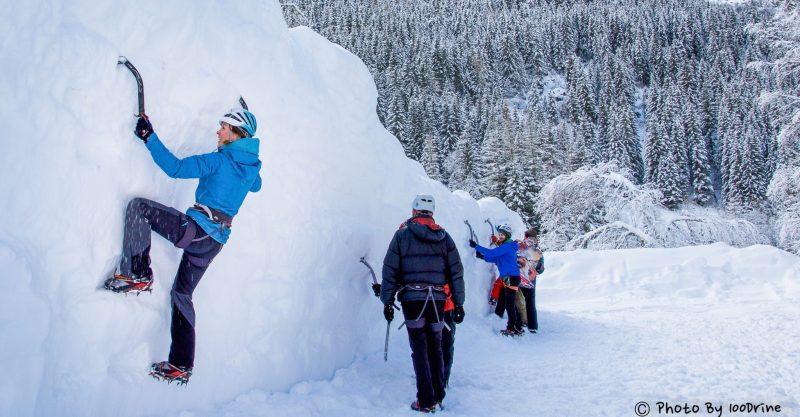 femmes-skieuse-escalade-regroupement-chamonix-Domitille_fleury-Anais_verbruge_fuselier-Lucie_duviau-clementine_junique-Alice_grenier