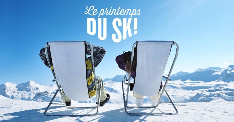 Profitez des offres du Printemps du Ski 2018