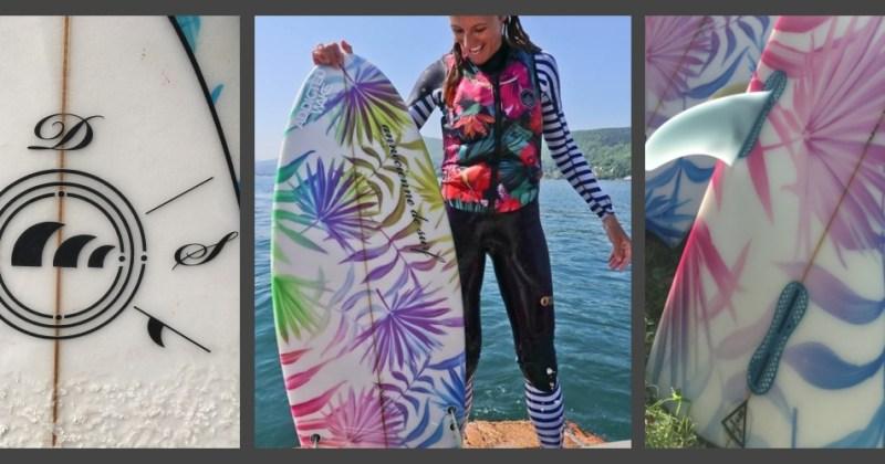 Test : planches de wakesurf l'Annecienne de Surf