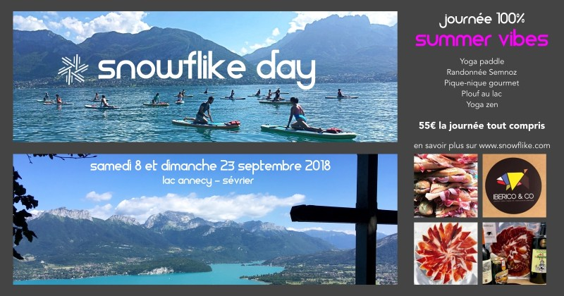 snowflike day summer vibes de septembre