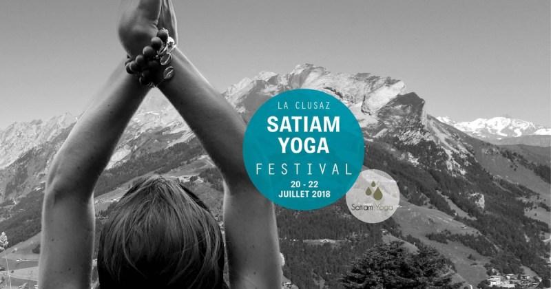 Partagez le yoga en famille au Satiam Yoga Festival de La Clusaz