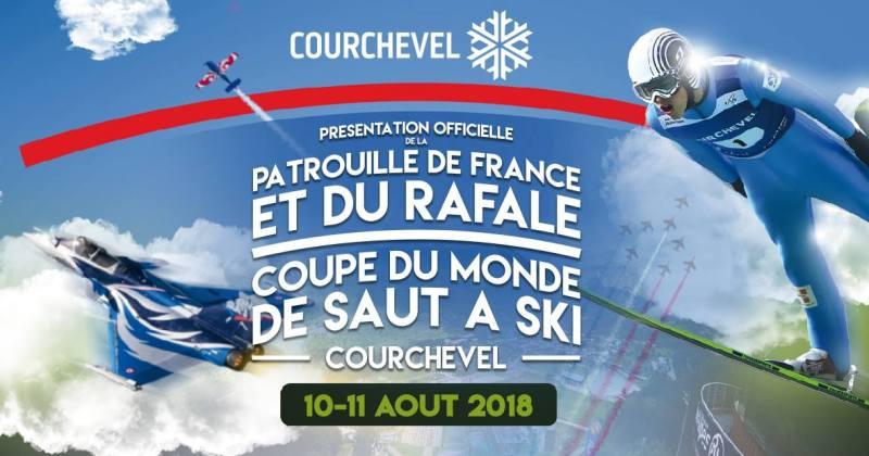 Ce week-end on s'envoie en l'air à Courchevel ;-)