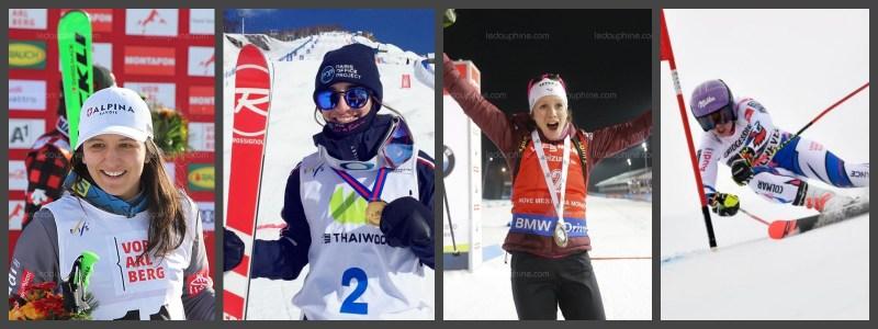 athlete-montagne-sports-hiver-francaises-ski-france
