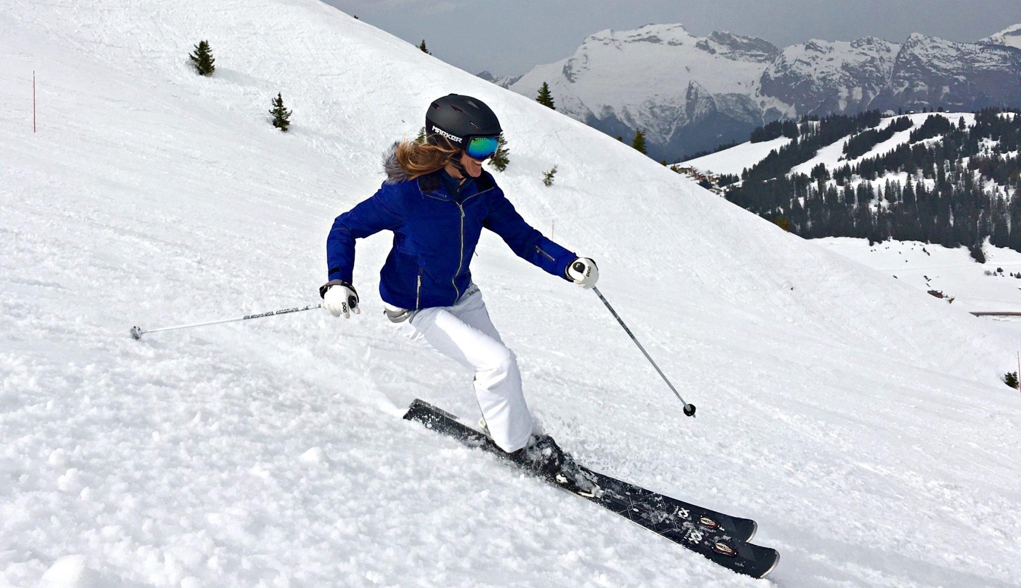Ski alpin | snowflike