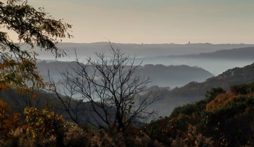 At the Bethel Horizon Retreat Center, visitors can witness the fog burn away to greater clarity, an outcome that can occur within and around us.