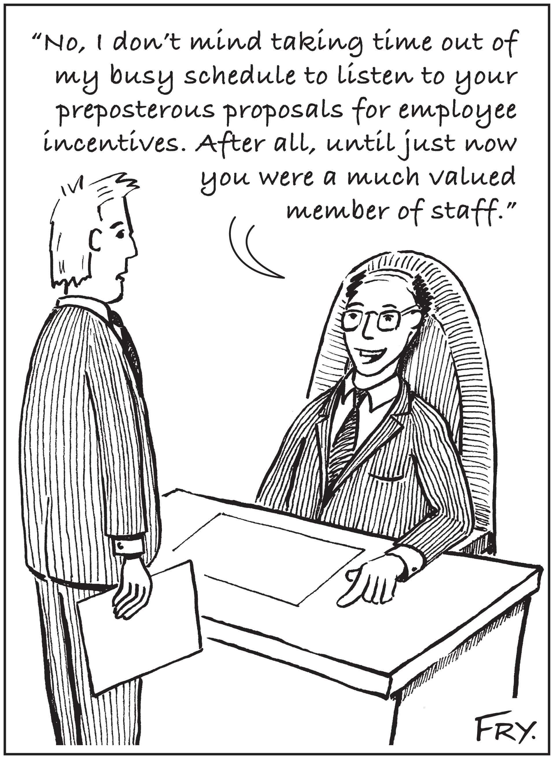 Employee Incentives Humor February 2014