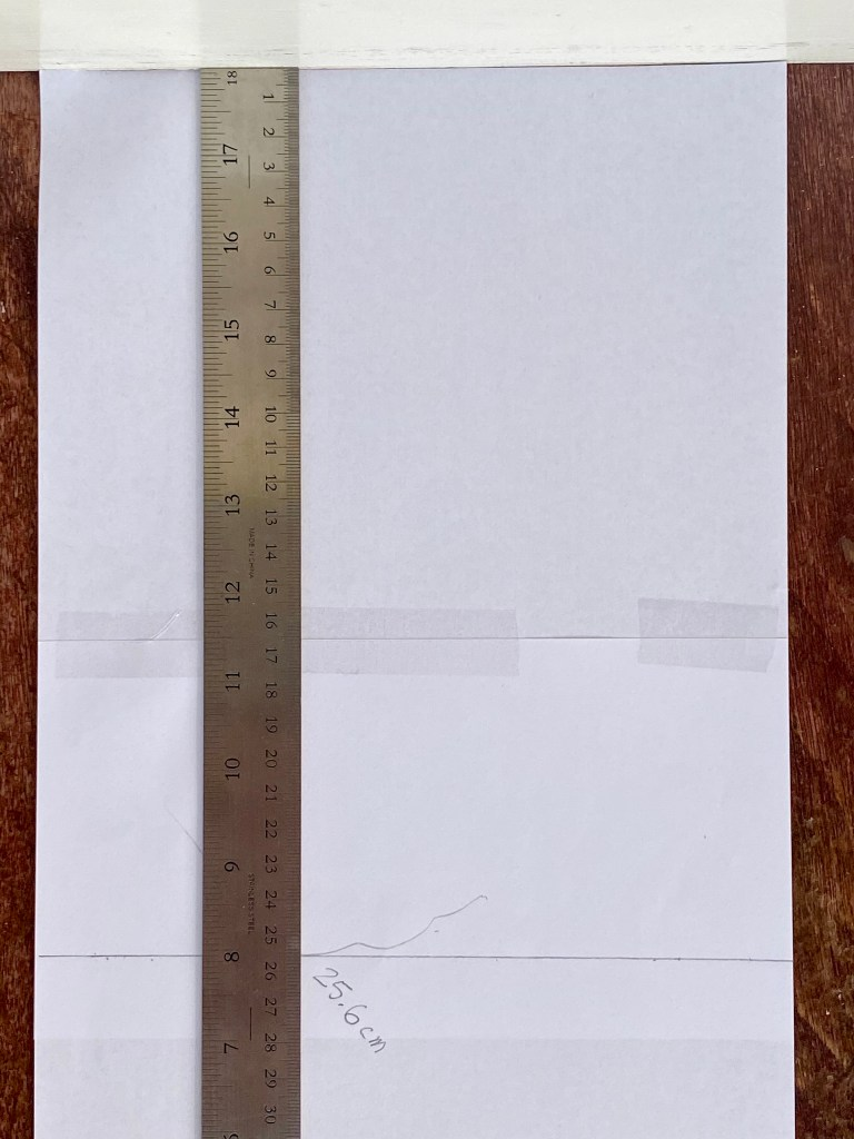 Measure length of foot