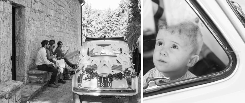 rapolano terme, tuscany, fiat, italy, wedding, wedding photography, Pieve di San Vittore, marianaperrone, snowingbutterflies