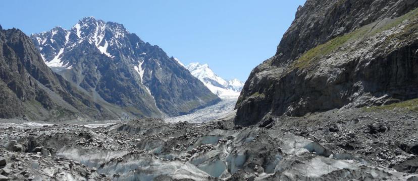 Photo of glaciers in Pakistan