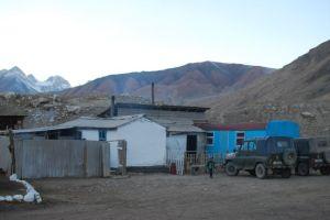 the ranger station at Sarychat-Ertash