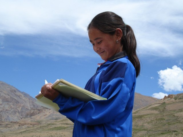 Kids learn to appreciate and value nature in eco camps supported by Snow Leopard Vodka
