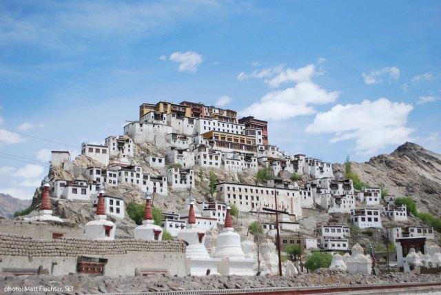 Stunning Thiksay Monastery in Ladakh. Photo: Matt Fiechter, SLT