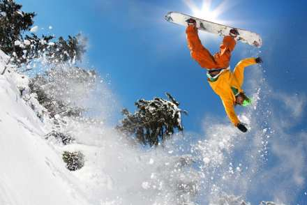 Five Tips for beginner Snowboarders